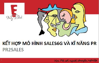 PR2SALES – Ứng dụng PR trong bán hàng